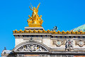 Grand Opera (detail), Paris, France Royalty Free Stock Photo