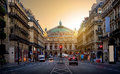Grand Opera in Paris Royalty Free Stock Photo
