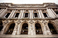 Grand opera paris view of front facade Stock Photography
