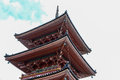 Grand pagoda in kyoto japan ancient fushimi inari shrine Stock Photography