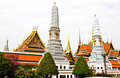 Grand Palace in Bangkok, Thailand. Royalty Free Stock Photos