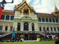 Grand palace in bangkok thailand Stock Images