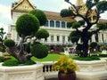 Grand palace in bangkok thailand Stock Photo