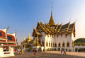 The grand palace bangkok thailand january tourists visit in on january has been official Stock Photos