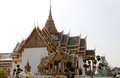 Grand palace bangkok thailand in landmark and residence of the thai king Royalty Free Stock Image