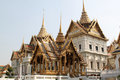 Grand palace bangkok thailand in landmark and residence of the thai king Stock Image