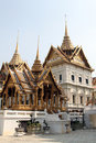 Grand palace bangkok thailand in landmark and residence of the thai king Stock Photography