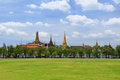 Grand palace bangkok thailand the royal in Royalty Free Stock Photo