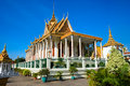 Grand palace, Cambodia. Stock Photo