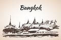 The Grand Palace - complex of buildings at the heart of Bangkok,