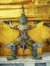 Grand palace demon in bangkok thailand Stock Photos