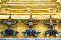 Grand Palace Details, Bangkok, Thailand Royalty Free Stock Photo
