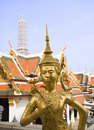 Grand Palace Statue Royalty Free Stock Photo