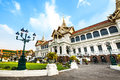 Grand palace with temple of emerald buddha attractions in bangkok thailand the has built the wat phra kaew is besides the royal Royalty Free Stock Image