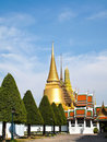 Grand Palace , tourism attraction in Bangkok Royalty Free Stock Image