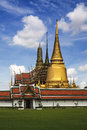 The grand palace wat phra kaew the emerald buddha temple bangkok thailand landmark of thailand is regarded as most sacred buddhist Stock Photography