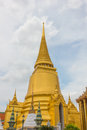 Grand palace and Wat Phra Kaew of thailand Royalty Free Stock Photo