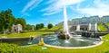 Grand Peterhof Palace Royalty Free Stock Photo