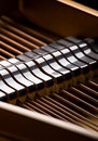 Grand piano close-up Royalty Free Stock Photos