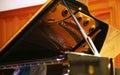 Grand piano Royalty Free Stock Photo