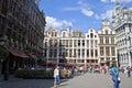 Grand place bruselas Fotografía de archivo libre de regalías