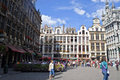 Grand place brussel Royalty-vrije Stock Fotografie