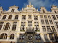 Grand place brussels belgium central square of Royalty Free Stock Photography