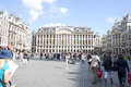 Grand place bruxelles Immagine Stock