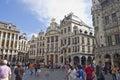 Grand place bruxelles Fotografia Stock Libera da Diritti