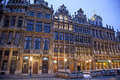 Grand place famous square in brussels belgium Royalty Free Stock Photo