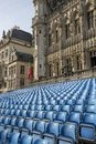 Grand Place Square with established Royalty Free Stock Photo