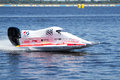 Grand prix formula h o vyshgorod ukraine july powerboat number china soushtern team f fast speed pilot xiong zi wei world Royalty Free Stock Photo