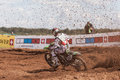 Grand Prix Russia FIM Motocross World Championship Stock Image