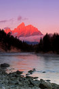 Grand Teton Mountain reflection Royalty Free Stock Photo