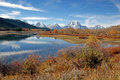 Grand teton national park wyoming usa autumn in Royalty Free Stock Images