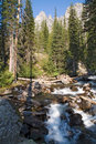 Grand Teton Park  and rapids Stock Photo