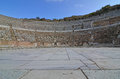 Grand theater the at the ancient roman town of ephesus turkey where st paul preached to the silversmiths unsuccessfully Royalty Free Stock Image