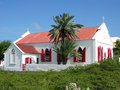 Grand Turk Island Cathedral Stock Photo