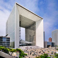 Grande Arche, Paris Stock Images
