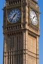 Grande ben clock tower london Immagini Stock Libere da Diritti