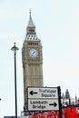 Grande ben clock tower london Fotografie Stock