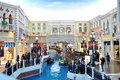The grande canale shopping center of venetian macao resort hotel photo was taken as Royalty Free Stock Photos