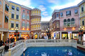 The grande canale shopping center of venetian macao resort hotel photo was taken as Royalty Free Stock Images