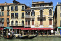 Grande Canale in Venice Stock Images
