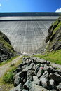 Grande Dixence dam, Switzerland Stock Photography