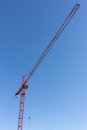 Grande grue de construction grande Images stock
