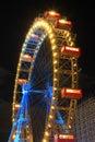 Grande roue, Vienne Image libre de droits