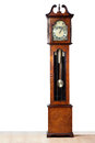 Grandfather clock a very old stood the test of time Royalty Free Stock Photography