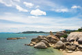 Grandfather rock hin ta hin yai in koh samui the attraction island thailand Stock Images