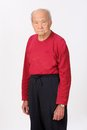 Grandfather senior person standing